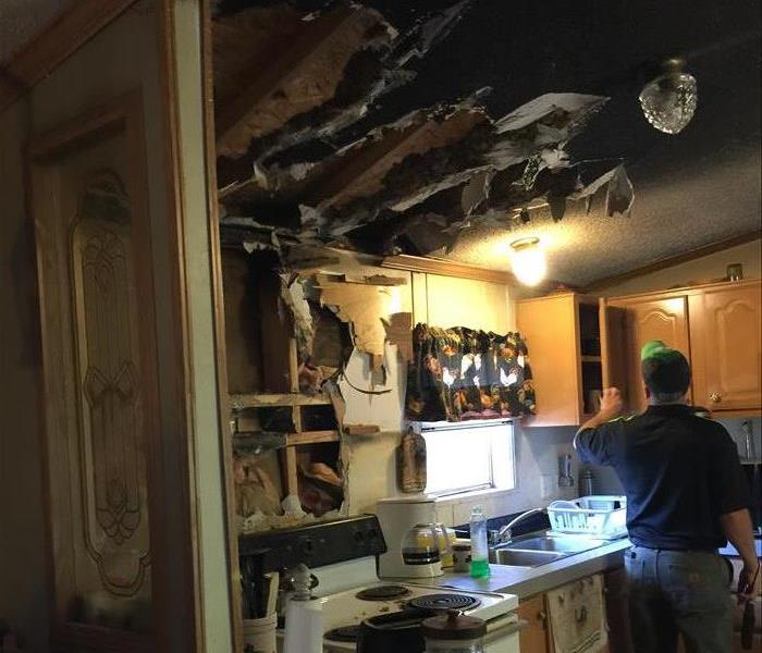 Kitchen Fire in Colchester, VT  Before