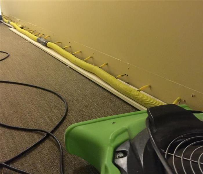 Water Damage to Drywall